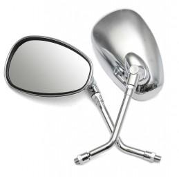 Roller Spiegel Chrom Set...