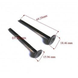 Ventil, Auslass für 4 Takt 50ccm China Roller GY6 239QMA QMB Motor